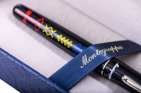 Elmo 01 Roller Insemne Romanesti by Montegrappa, Made in Italy2