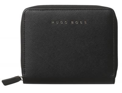 Premium Business Gift Set Mapa Conferinta Hugo Boss A6 si Butoni Silver Stamp3