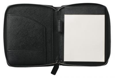 Premium Business Gift Set Mapa Conferinta Hugo Boss A6 si Butoni Silver Stamp5