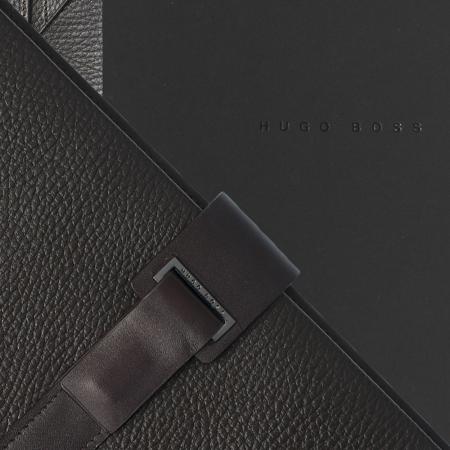 Set Pure Leather Brown Hugo Boss si Cravata Matase3