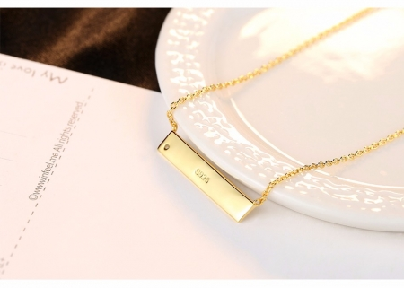 Colier Argint 925 Personalizabil Melody - Cadou Valentine's Day [1]