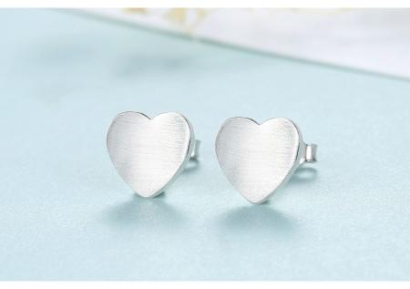 Cercei Borealy Argint 925 Heart [1]