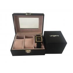Elegant Time Gift Set Ceas Preziosa Ungaro si Cutie 3 Ceasuri - personalizabil3