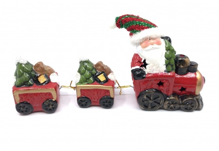 Decoratiune Craciun - Santa Claus Train