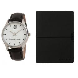 Set Ceas Christian Lacroix si Agenda Hugo Boss0