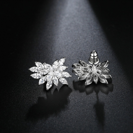 Set Colier si Cercei Luxury Fashion Bride, by Borealy [2]