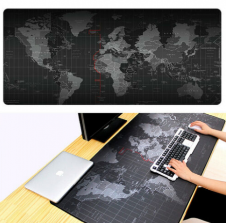 Mouse Pad Profesional World Map - 90 cm x 40 cm