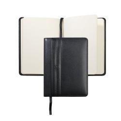 Elegant Black Gift Set Agenda Nina Ricci si Esarfa Flowers - personalizabil5