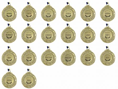 Set Cadou Personalizabil Trofeu si Medalie [3]