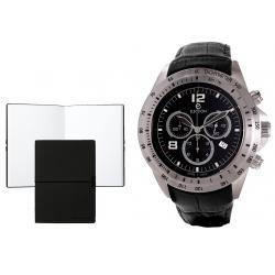 Set CEAS ELECTION TURBO II – BLACK si Note Pad Black Hugo Boss
