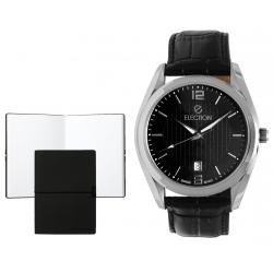 Set CEAS ELECTION CLASSIC – BLACK & SILVER si Note Pad Black HUGO BOSS