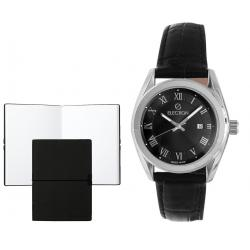 Set CEAS ELECTION CLASSIC – BLACK & ROMAN NUMERALS si Note Pad Black HUGO BOSS0