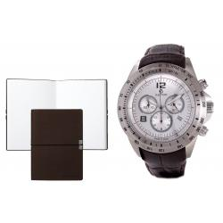 Set CEAS ELECTION TURBO II – BROWN si Note Pad Burgundy Hugo Boss