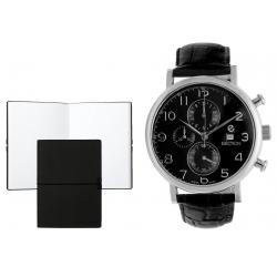 Set CEAS ELECTION CLASSIC TRADITIONAL CHRONO – BLACK si Note Pad Black HUGO BOSS