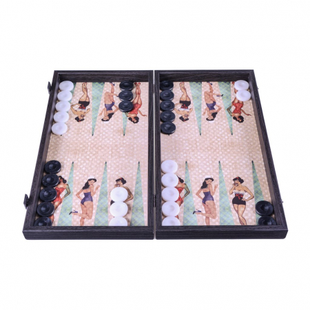 Table de joc Pin-up Girls by Manopoulos, made in Greece0