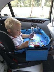 Masuta Calatorie / Tavita de copii pentru masina si carut KIDSMARTER. Perfecta pentru joaca, mancare, desen, cand sunteti pe drum.5
