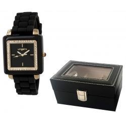Elegant Time Gift Set Ceas Preziosa Ungaro si Cutie 3 Ceasuri - personalizabil0