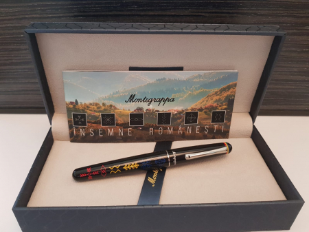 Elmo 01 Roller Insemne Romanesti by Montegrappa, Made in Italy6