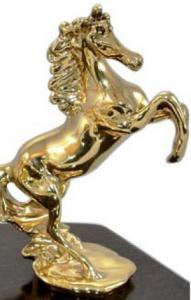 Set Încălzitor de Cognac Power Horse by Credan si Butoni Gold Round by Credan4