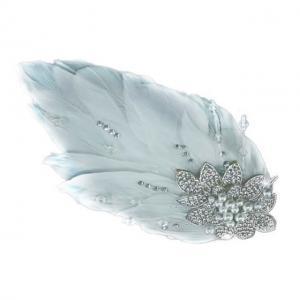 Agrafa Borealy Pearl Feather0