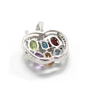 Colier Apple Precious - Pietre Preţioase Naturale Argint 9253