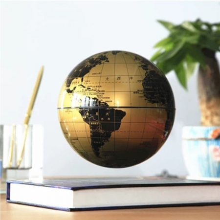 Atlas of Levitation Extra Large 14 cm diametru Glob Pamantesc Desk3
