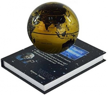 Atlas of Levitation Extra Large 14 cm diametru Glob Pamantesc Desk2
