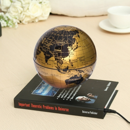 Atlas of Levitation Extra Large 14 cm diametru Glob Pamantesc Desk1