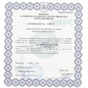 Inel Oval Russian Luxury Smarald 2,5 carate Argint Borealy Marimea 74