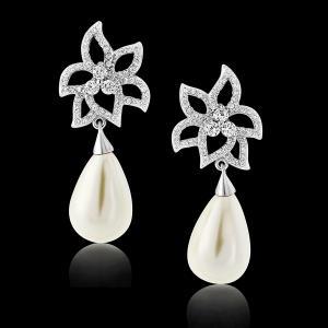 Cercei Borealy Classic Beauty Pear Pearl2