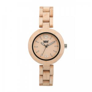 Mimosa Beige Wood Watch for Women - Ceas 100% din lemn lucrat manual1