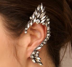 Cercel Ear Cuff Punk Couture by Borealy1