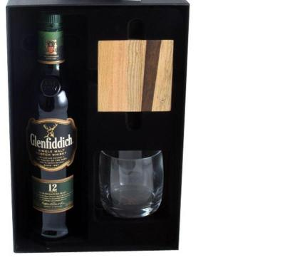 Black Leather Smoking Set & Glenfiddich Gift Set1