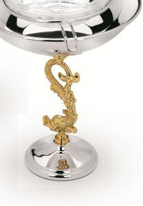 Bol Pentru Caviar placat cu aur Chinelli - Made in Italy1