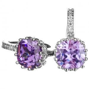 Cercei Borealy Sapphire 3 Carate Lilac [0]
