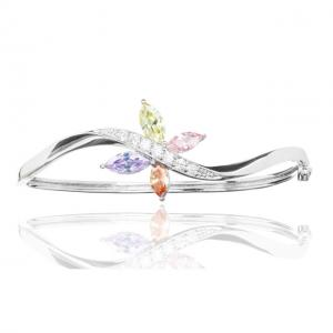 Bratara Borealy Topaz Bangle Butterfly Colours2