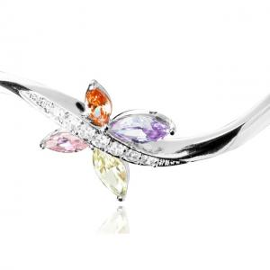 Bratara Borealy Topaz Bangle Butterfly Colours3