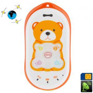 Borealy Teddy Bear - Localizator Copii prin GPS + Telefon Mobil0