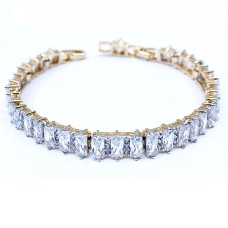 Brăţară Long Crystals Gold [0]