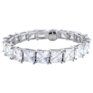 Brăţară Borealy Square Diamonds0