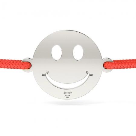 Bratara Smiley din Argint 925 personalizabila