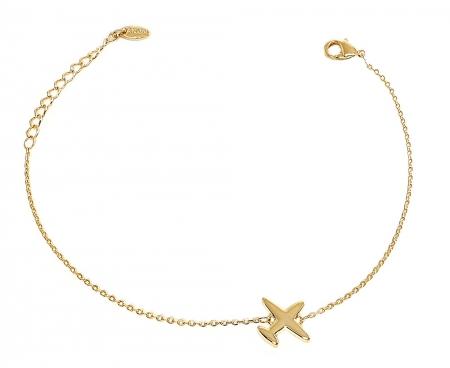 Bratara Plane Gold