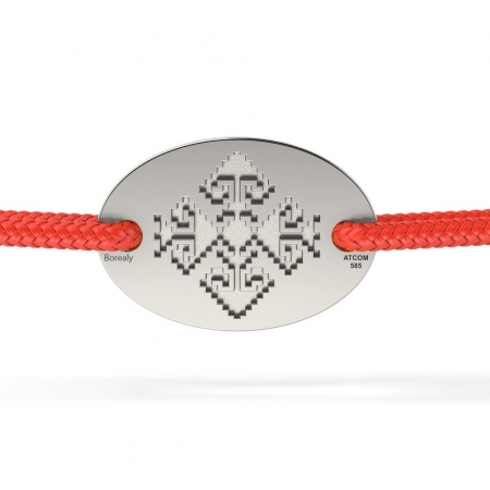 Bratara Motive Traditionale din Argint 925 personalizabila