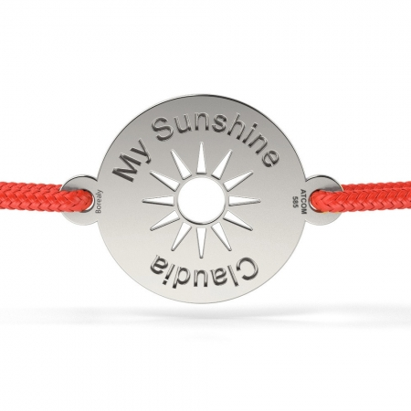 Bratara My Sunshine din Argint 925 personalizabila