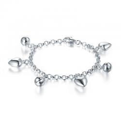 Bratara pentru Copii Borealy Argint 925 Triple Heart1
