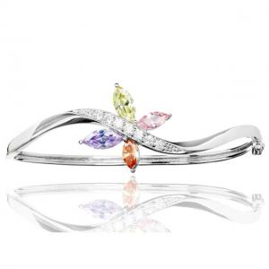 Bratara Borealy Topaz Bangle Butterfly Colours0
