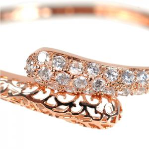 Brăţară Borealy Diamonds Bangle Maroc Pink1