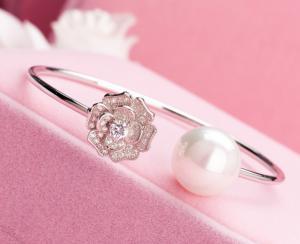 Brăţară En Rose Pearl2