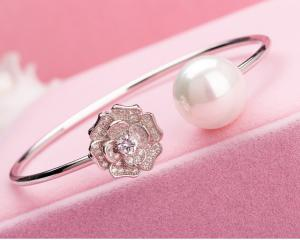 Brăţară En Rose Pearl1
