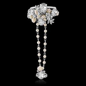 Bratara Borealy Pearl Luxury Hand2